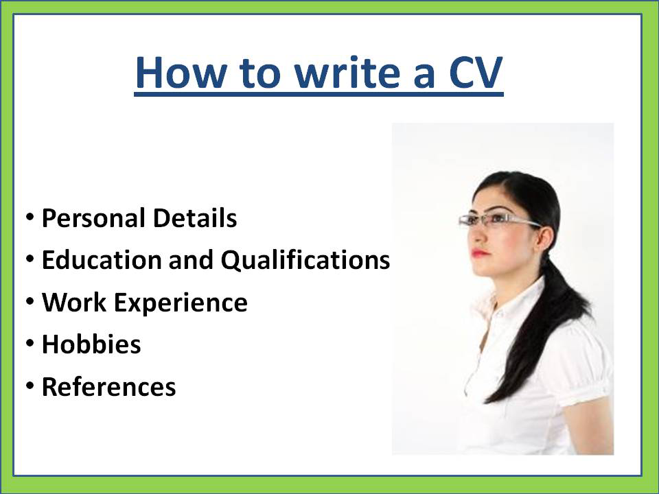 writing a cv in english example How to write a good cv example of good cv here is an example of a simple but effective cv: curriculum vitae english - mother tongue.
